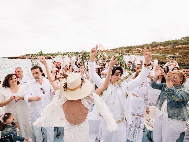 La boda de Pablo y Laura en Eivissa, Islas Baleares 71