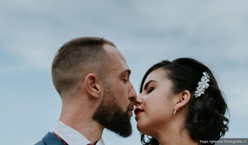 La boda de Niko y Nair en Vigo, Pontevedra