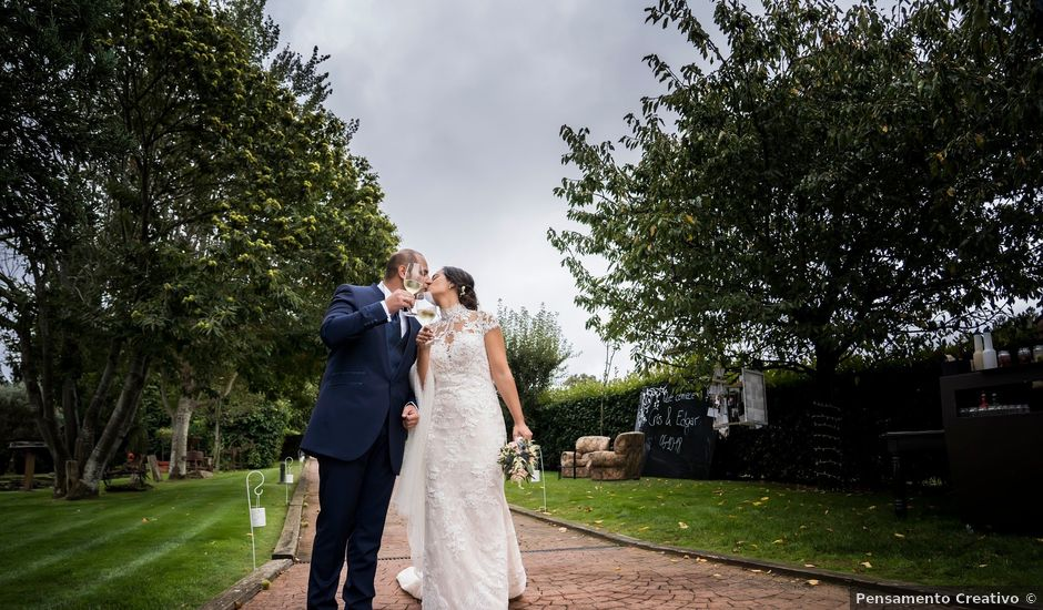 La boda de Edgar y Cristina en Chantada (Santa Marina), Lugo