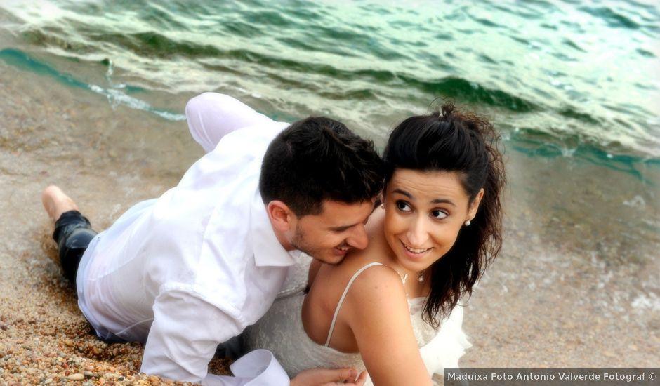 La boda de Iris y Ruben en Santa Coloma De Farners, Girona