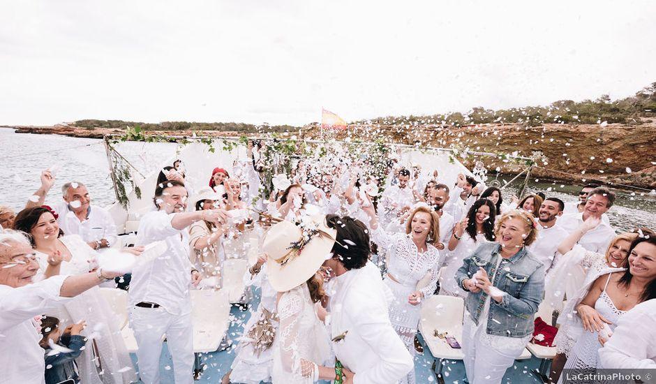 La boda de Pablo y Laura en Eivissa, Islas Baleares