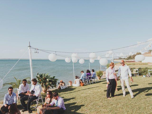 La boda de Luisete y Eva en Sanlucar De Barrameda, Cádiz 24