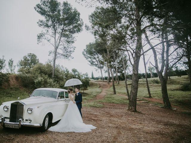 La boda de Javi y Cristina en Castellar Del Valles, Barcelona 102