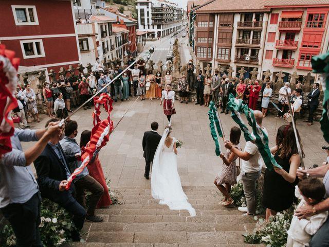 La boda de Leire y Eneko