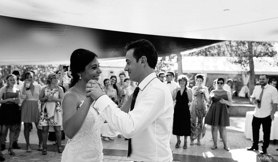 La boda de Pedro y Elena en Torquemada, Palencia