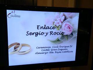 La boda de Sergio y Rocío 2