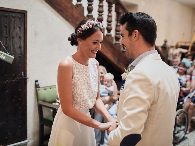 La boda de Lee y Jayne en Hoyuelos, Segovia 25