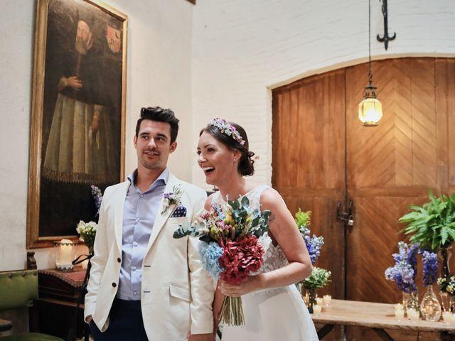 La boda de Lee y Jayne en Hoyuelos, Segovia 27