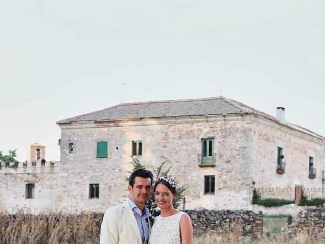 La boda de Lee y Jayne en Hoyuelos, Segovia 37