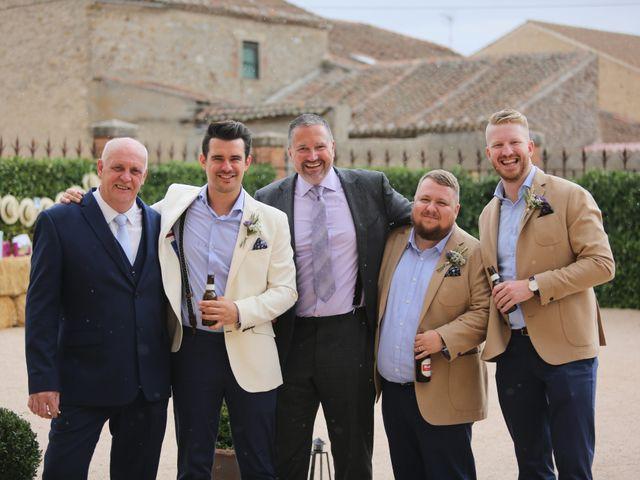 La boda de Lee y Jayne en Hoyuelos, Segovia 43