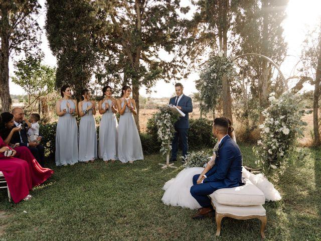 La boda de Óscar y Clara en Lluchmajor, Islas Baleares 45