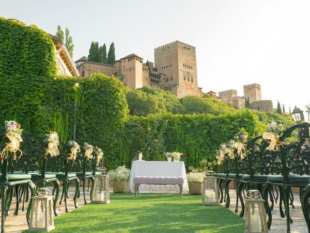 La boda de Álvaro y Marta en Granada, Granada 1