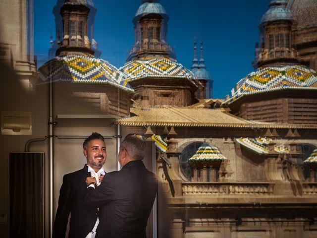 La boda de Rebeca y Davide en Zaragoza, Zaragoza 3