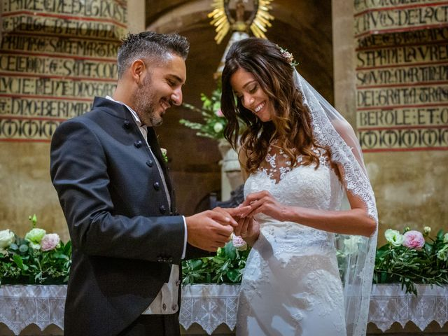 La boda de Davide y Rebeca