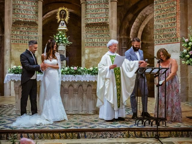 La boda de Rebeca y Davide en Zaragoza, Zaragoza 32