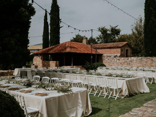 La boda de Andrea y Adriano en Ayllon, Segovia 10