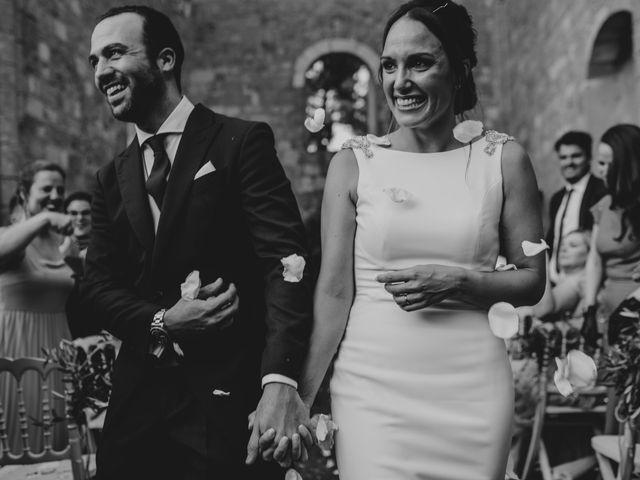 La boda de Andrea y Adriano en Ayllon, Segovia 1