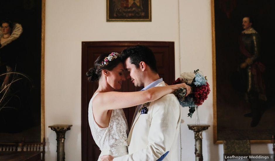 La boda de Lee y Jayne en Hoyuelos, Segovia