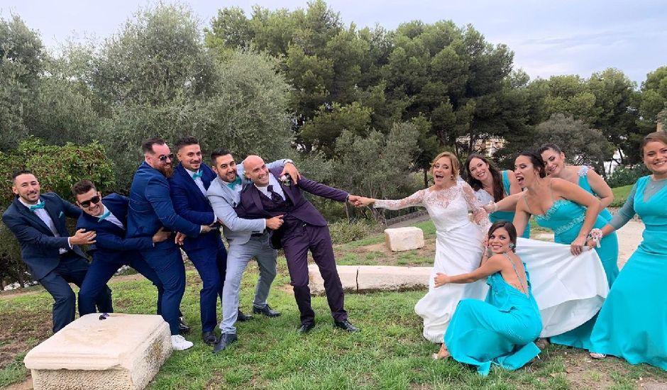 La boda de Miguel  y Cynthia en Fuengirola, Málaga