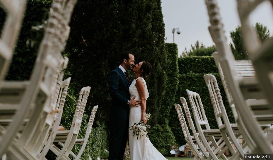 La boda de Andrea y Adriano en Ayllon, Segovia
