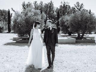 La boda de Silvia y Giammarco