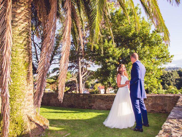La boda de David y Conchi en Teo, A Coruña 1