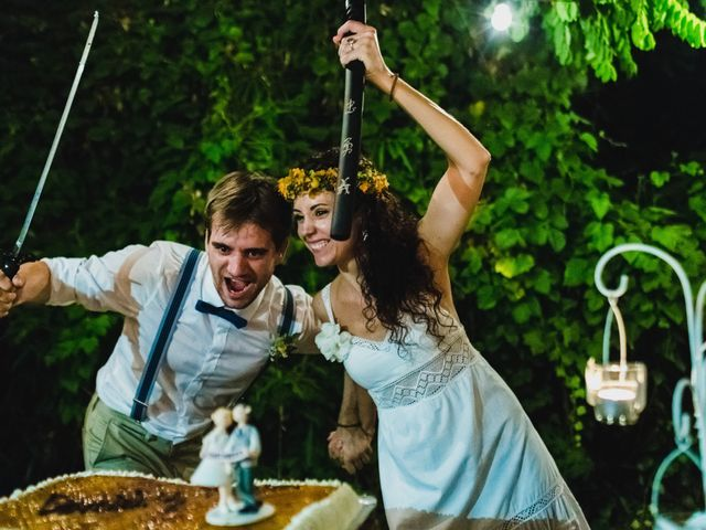 La boda de Dani y María en Alginet, Valencia 78