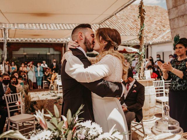 La boda de José Cruz y Virgina
