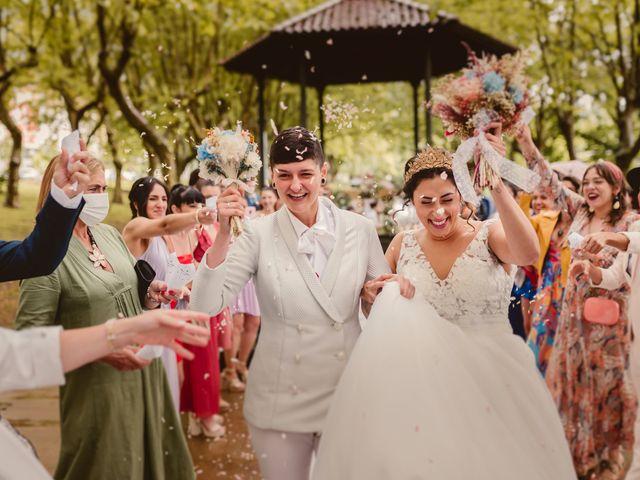 La boda de Oihane y Julieta en Lasarte, Guipúzcoa 60