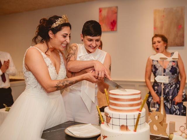 La boda de Oihane y Julieta en Lasarte, Guipúzcoa 91