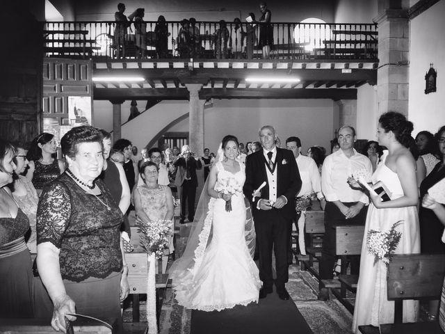 La boda de Abel y Teresa en Zarza De Granadilla, Cáceres 40