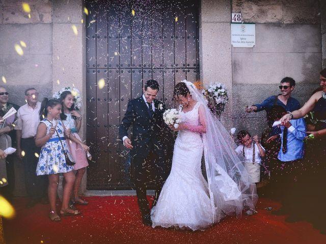 La boda de Abel y Teresa en Zarza De Granadilla, Cáceres 47