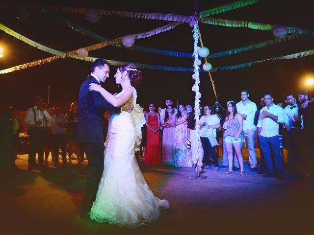 La boda de Abel y Teresa en Zarza De Granadilla, Cáceres 75