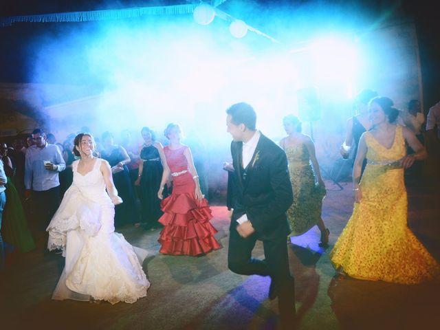 La boda de Abel y Teresa en Zarza De Granadilla, Cáceres 80
