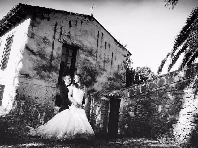 La boda de Abel y Teresa en Zarza De Granadilla, Cáceres 100