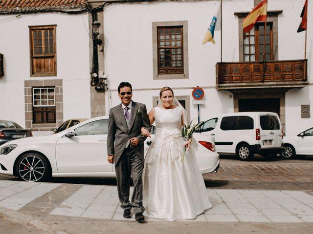 La boda de Guaya y Haridiam en Telde, Las Palmas 45