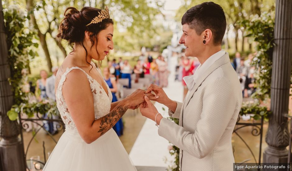La boda de Oihane y Julieta en Lasarte, Guipúzcoa