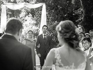 La boda de Carlos y María y María