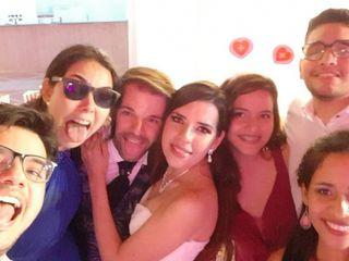 La boda de Rubén y Hansely