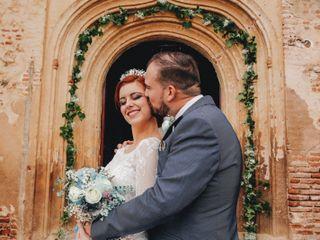 La boda de Almudena y Ismael