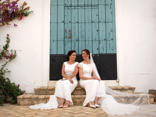 La boda de María y Ana