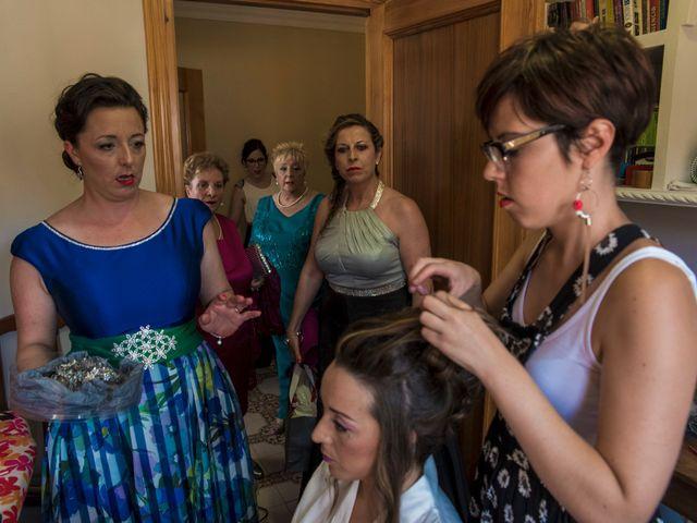 La boda de David y Vero en Buenache De Alarcon, Cuenca 6