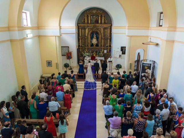 La boda de David y Vero en Buenache De Alarcon, Cuenca 14