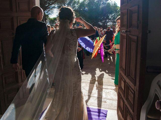 La boda de David y Vero en Buenache De Alarcon, Cuenca 19