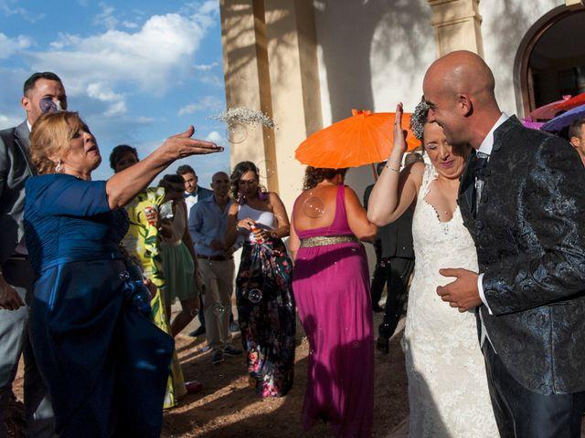 La boda de David y Vero en Buenache De Alarcon, Cuenca 22