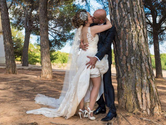 La boda de David y Vero en Buenache De Alarcon, Cuenca 24