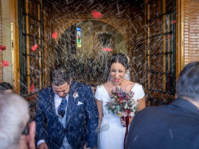 La boda de Carlos y Elena en Gerena, Sevilla 1