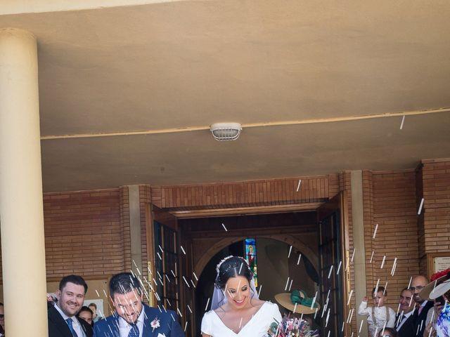 La boda de Carlos y Elena en Gerena, Sevilla 45