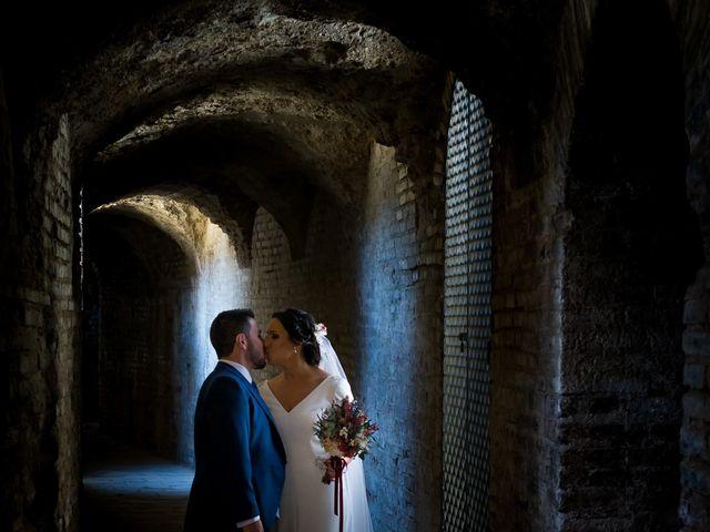 La boda de Carlos y Elena en Gerena, Sevilla 49