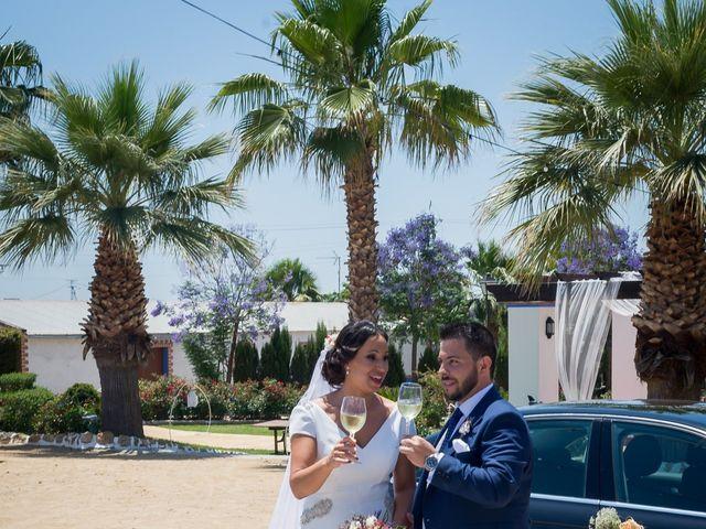 La boda de Carlos y Elena en Gerena, Sevilla 63